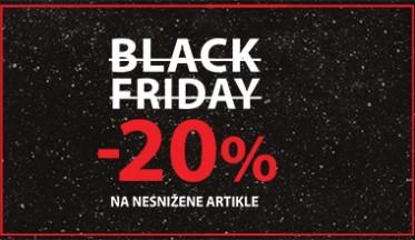 | BLACK FRIDAY VIKEND -20%|