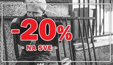 | AKCIJA -20% |