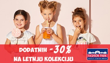 Dodatnih -30% u Fashion Outlet Parku