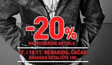 | AKCIJA -20%|