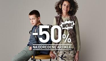 | SNIŽENJE DO -50% |
