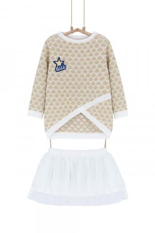 Džemper haljina bž TILI