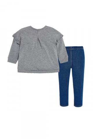 Mayoral set: duks + teksas pantalone