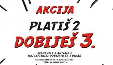 | AKCIJA 2+1 |