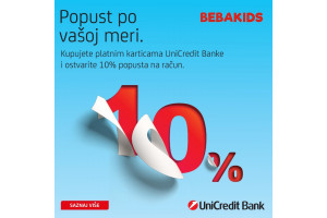 -POPUST PLATNIM KARTICAMA UNICREDIT BANKE-