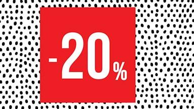 ✹✹ VIKEND AKCIJA -20% POPUSTA NA NESNIŽENE ARTIKLE ✹✹