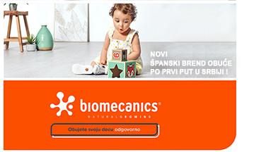 NOVI BREND OBUĆE Biomecanics