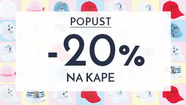 ✽✽ PROLEĆNI POPUST NA KAPE 20% ✽✽