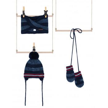 Set kapa, šal i rukavice