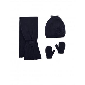 Mayoral set: kapa, šal, rukavice